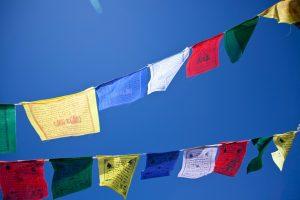 Gwynne Jones Yoga Prayer Flags 14