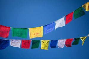 Gwynne Jones Yoga Prayer Flags 13