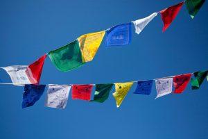 Gwynne Jones Yoga Prayer Flags 12