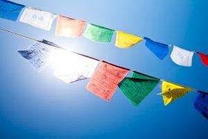 Gwynne Jones Yoga Prayer Flags 8