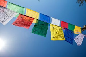 Gwynne Jones Yoga Prayer Flags 8