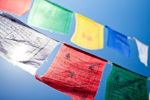 Gwynne Jones Yoga Prayer Flags 7