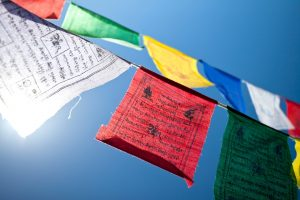Gwynne Jones Yoga Prayer Flags 6