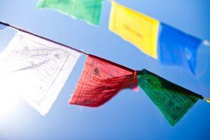Gwynne Jones Yoga Prayer Flags 3