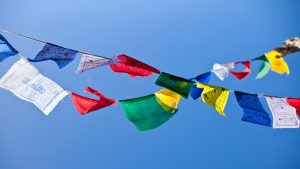 Gwynne Jones Yoga Prayer Flags 2