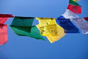 Gwynne Jones Yoga Prayer Flags 1