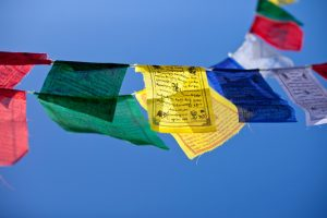 Gwynne Jones Yoga Prayer Flags 16
